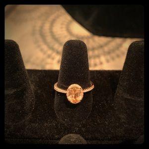 Rose Gold Morganite Ring 💍💍💍